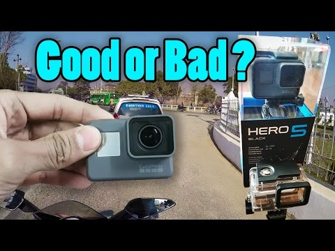 GoPro HERO 5 First Test | Motovlog | Nepal