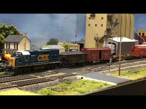 Repeat 2018 NMRA National Train Show - Record setting T-Trak layout