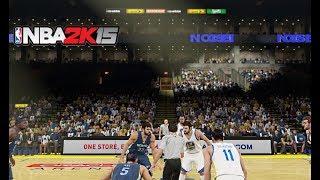 NBA 2K15 : Memphis Grizzlies Vs. Golden State Warriors | 4K 60fps | PC Gameplay