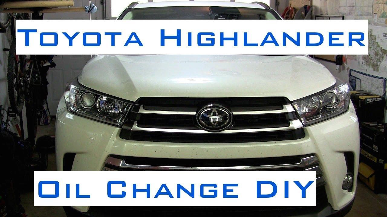 Toyota highlander v6 oil change diy 2013 2017 youtube toyota highlander v6 oil change diy 2013 2017 solutioingenieria Gallery