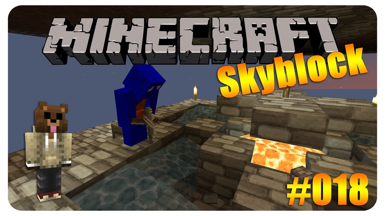 Let S Play Skyblock Farmschlampe 018 Server Edition Youtube