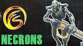 How To Quickly Paint Necrons  - Warhammer 40k Painting Tutorial