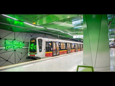 Best Transport System In Europe? Warsaw Metro M1 M2 | Tram | Bus | SKM WKD IC ICE PKP | Veturilo |