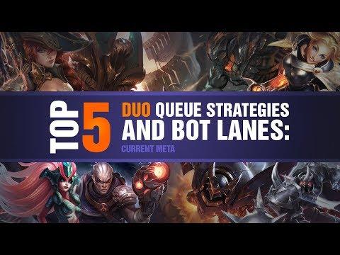 TOP 5 Duo Queue Strategies and Bot Lanes: Current Meta - YouTube