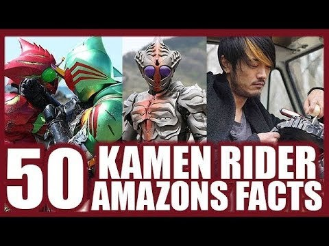50 Kamen Rider Amazons Facts Part 1 - Alpha, Omega & Sigma