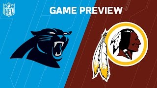Panthers vs. Redskins | NFL NOW | Week 15 Previews