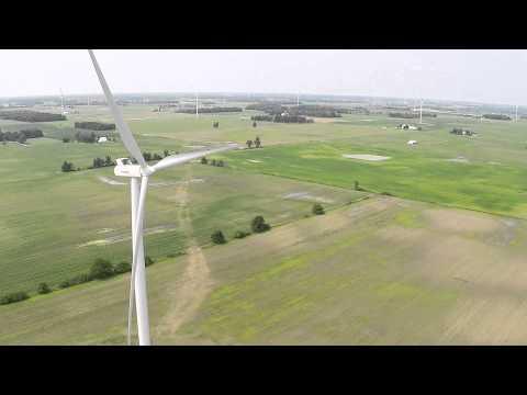 Windmills in Lynn, Indiana