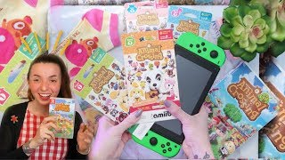 Today i try to see what happens when use these unbox older amiibo cards and them on my island in new horizons become a channel member! https://ww...