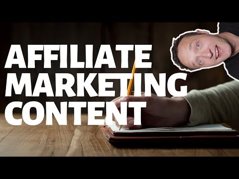 AFFILIATE MARKETING CONTENT - IDEAS, TIPS & TOOLS - LIVE thumbnail
