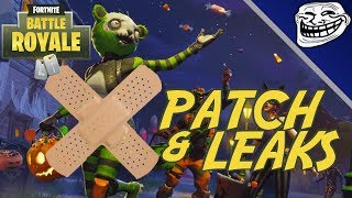 Fornite Patch Parody: Balloons, Fortnitemares Event Sunday, Leaked Items!!!