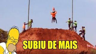 TRILHA DE MOTO - MORRO DO DESAFIO TOP , O ROIA SUBIU DE  MAIS
