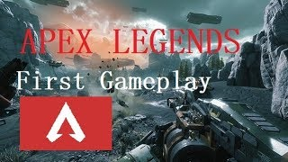 APEX LEGENDS FIRST Gameplay!!!