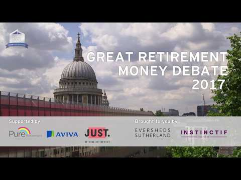 Great Retirement Money Debate: Mind over Money - 10 July 2017