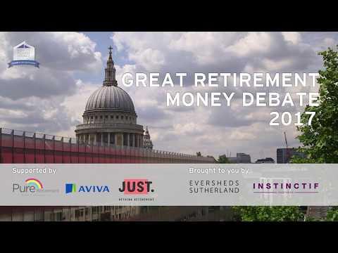 Great Retirement Money Debate: Mind over Money - 10 July 2017