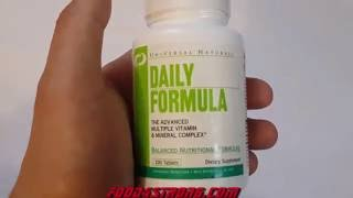 видео Daily Formula - 100 таблеток