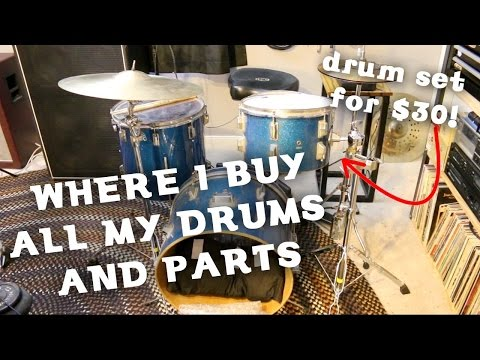 Where I Find Cheap Drums & Drum Parts