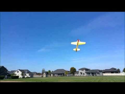 Scout Woolston's Homemade Airplane