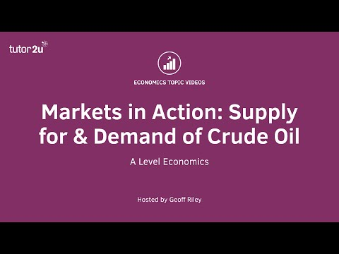 Markets in Action - Supply and Demand in the Global Oil Market