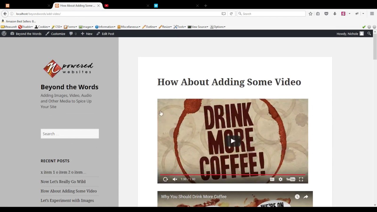 How to Add YouTube and Vimeo Videos to a WordPress Post or Page