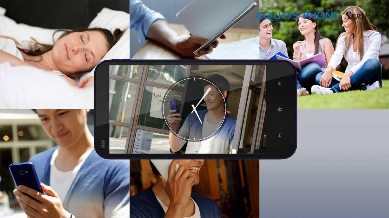 AQUOS PHONE SERIE SHL22 製品紹介動画