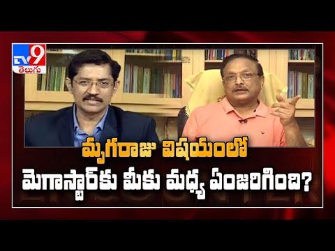 Yandamuri in Encounter with Murali Krishna - TV9