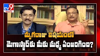 Yandamuri in Encounter with Murali Krishna - TV9