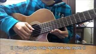 [Hướng dẫn Guitar Đệm Hát] Hương Đêm Bay Xa - Hari Won