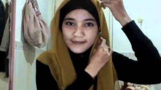 Hijab Tutorial : Play with Square #02