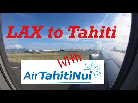 LAX to Papeete, Tahiti with Air Tahiti Nui
