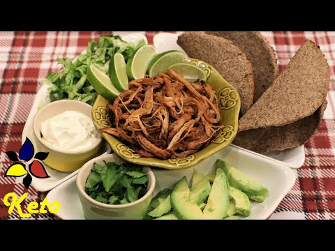 Keto Pulled Pork In A Slow Cooker – Pulled Pork Tacos | Keto Budget Recipes