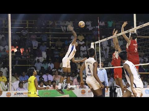 Indian volleyball 43rd National junior championship semi -Kerala vs Rajasthan