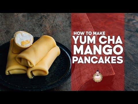 How to Make Yum Cha Style Mango Pancakes | Yum Cha Recipes