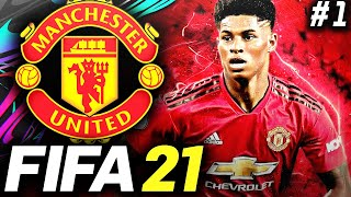 FIFA 21 Manchester United Career Mode EP1 - NEXT GEN IS HERE!! (PS5/Xbox Series X)