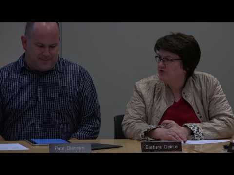Finance and Warrant Commission September 27, 2016