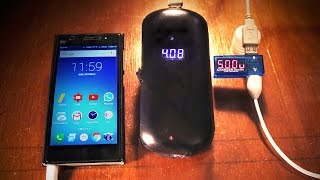HomeMade 18000mAh Rechargeable  Power Bank with LED Display(, 2016-10-05T04:29:46.000Z)