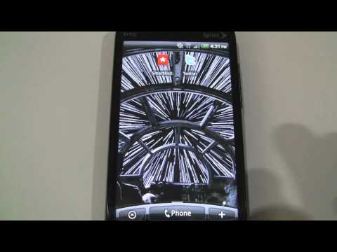 Star Wars Android Live Wallpapers From R2d2 Droid 2 On Htc Evo 4g Youtube