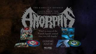 AMORPHIS - Tales From The Thousand Lakes & The Karelian Isthmus Vinyl Reissues