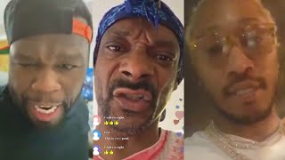 MORE Rappers React To 6IX9INE - GOOBA & Instagram Live (50 Cent, Snoop Dogg, Future)