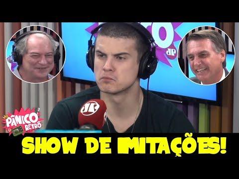ANDRÉ MARINHO DEU SHOW COM SUAS IMITAÇÕES NO PÂNICO! #1