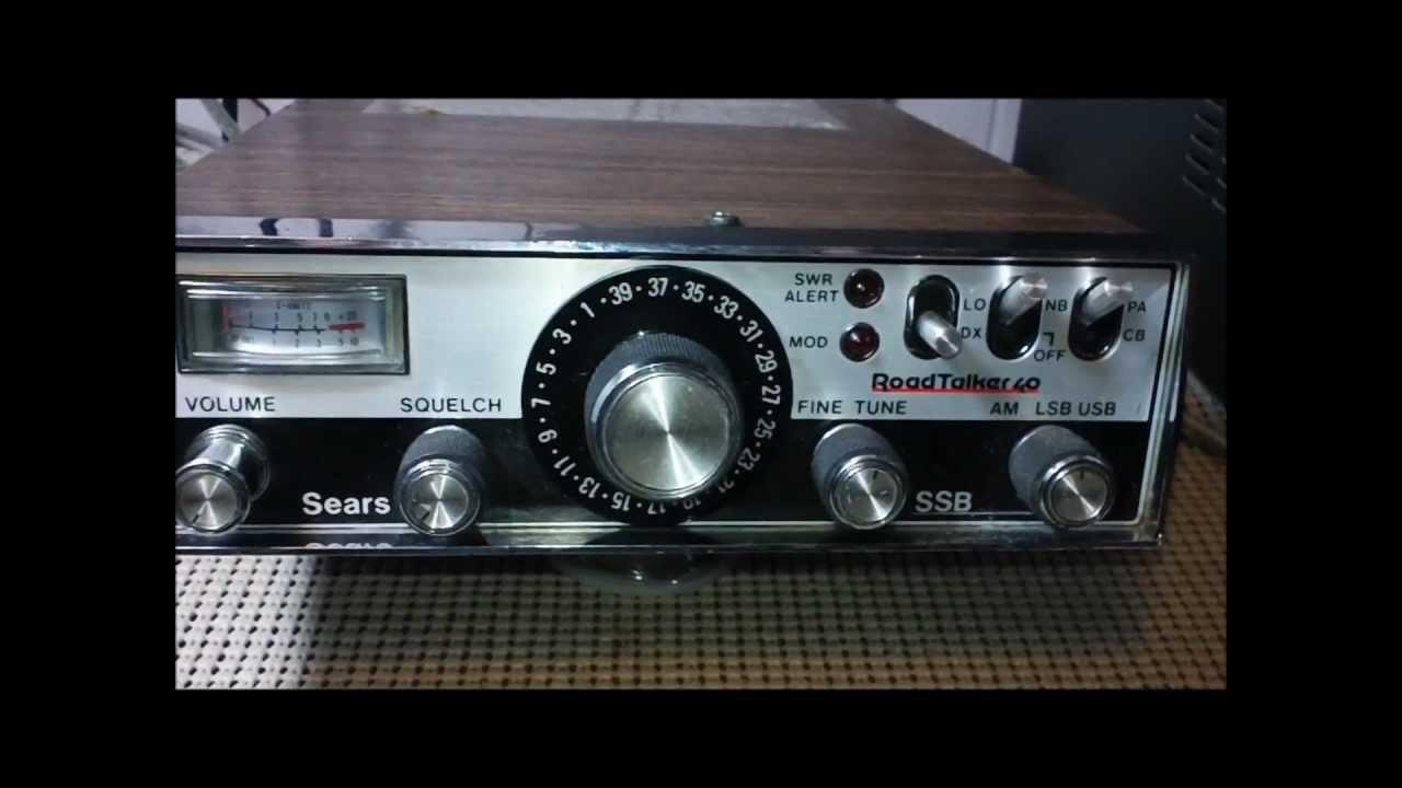 Sears Cb Microphone Wiring Library Of Diagram Turner Mic Road Talker 40 934 38260700 Ssb Am Radio Youtube Rh Com Astatic