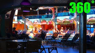 Carnival Splendor Tour 360˚ Deck 9 - Pool Deck