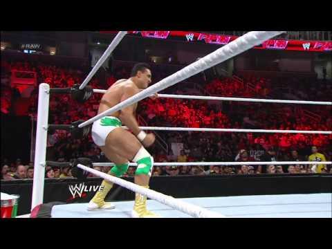 Alberto Del Rio vs. Tensai: Raw, Jan 21, 2013