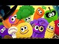 Baby Learn Colors Games | Kids Learn Fruits and Vegetables With Funny Food - Kids Learning Video