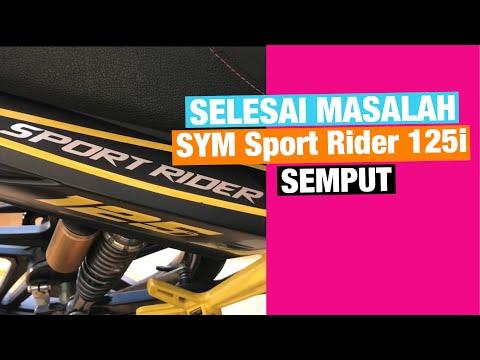 Selesai masalah SYM Sport Rider 125i semput