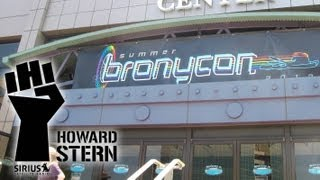 Video Howard Stern Show Returns To Bronycon download MP3, 3GP, MP4, WEBM, AVI, FLV Juli 2018