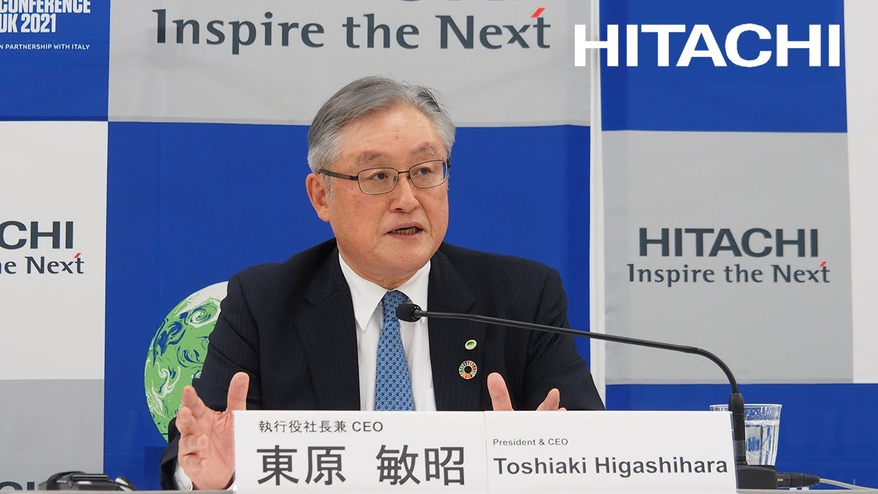 Download Web Conference on the Progress of the 2021 Mid-term Management Plan - Hitachi