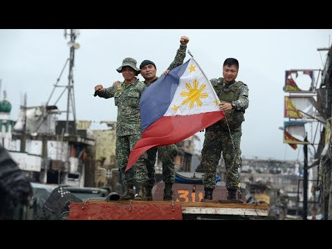 Philippines declares victory over militants in Marawi City