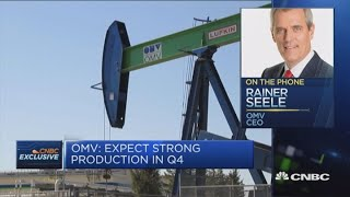 OMV CEO: See no cost impact from US sanctions on Iran   Squawk Box Europe
