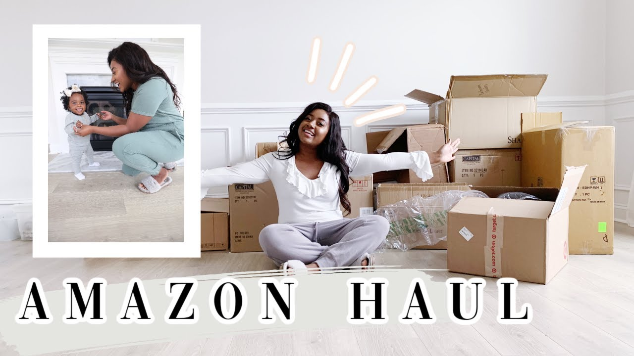 AMAZON HAUL, HOME UPDATE, & MORE | DAY IN THE LIFE VLOG