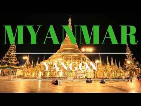 Myanmar Tour 2017 - Yangon, Golden Rock Travel